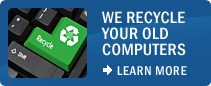 We Recycle Your Old Computers